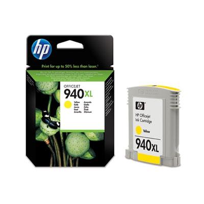 דיו למדפסת - 940XLHP מקורי-  צהוב C4909AE 8500