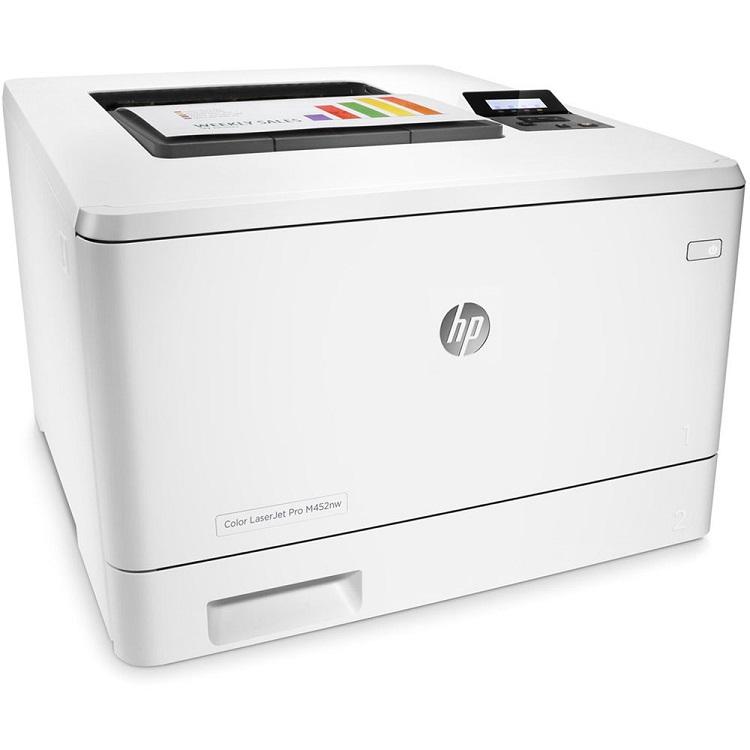 מדפסת לייזר HP LaserJet Pro M452nw CF388A