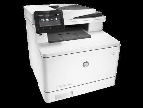 מדפסת לייזר משולבת HP Color LaserJet Pro M477fnw