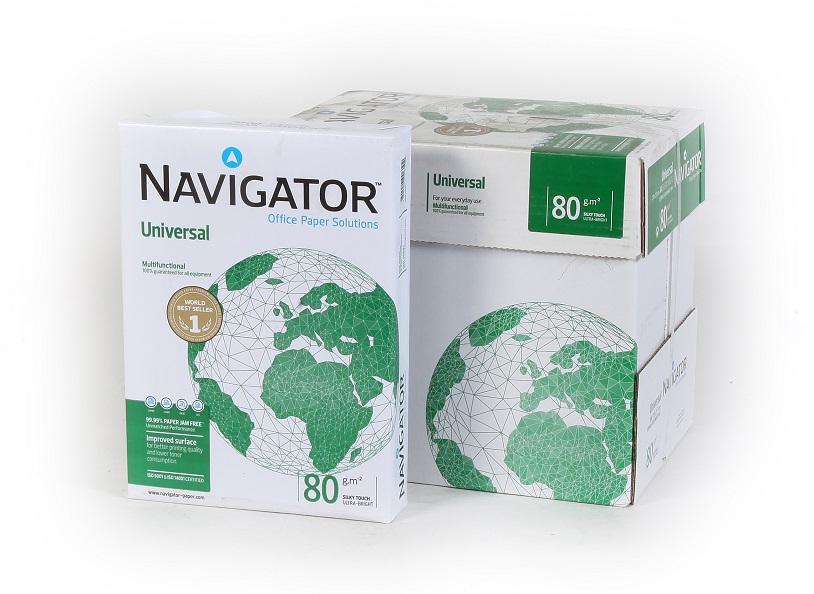 נייר צילום דפי A4 פרימיום רמת לובן גבוהה NAVIGATOR - גרם80 - 500 דף