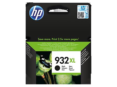 דיו למדפסת - 932XL HP -מקורי| שחור CN053AE Oj-6700