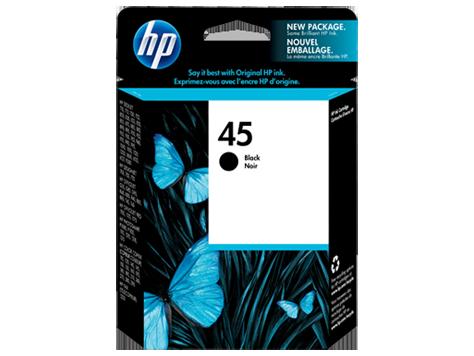 דיו למדפסת -HP -מקורי | שחור 51645A 1600C/890C