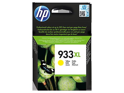 דיו למדפסת - 933XL HP-  מקורי | צהוב CN056AE Oj-6700