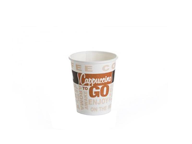 כוסות חד פעמיות - 50 כוסות נייר OZ-6 לשתייה חמה - 175 מל