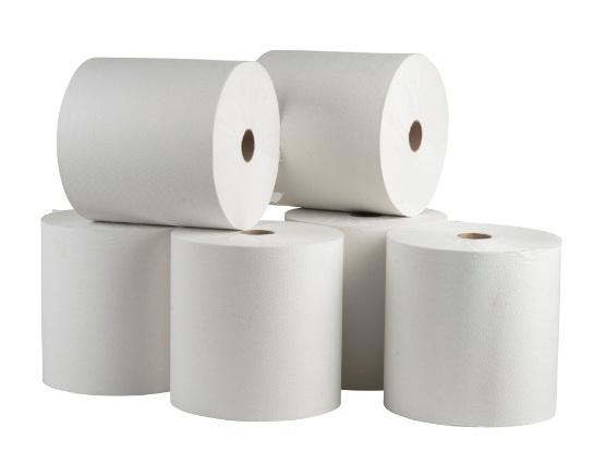 נייר ניגוב ידיים 6 גלילי נייר אייר פלקס נו-טאץ' - 304 מטר
