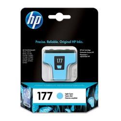 דיו למדפסת HP - דיו 177 HP לי-ציאן C8774HE 8254
