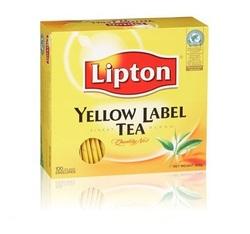 100 שקיקי תה ליפטון קלאסי - צהוב