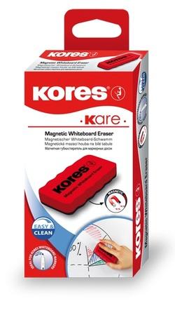 מחק ללוח לבן מגנטי  110*55*20 אדום KORES