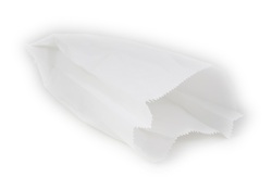 שקיות נייר לבנות 32.5*21  500 יח' (מס 14)