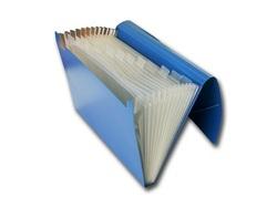 תיק הרמוניקה למסמכים 12 תאים, גודל A4