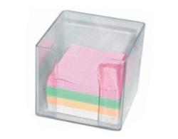 פתקיות נייר ממו במעמד שקוף