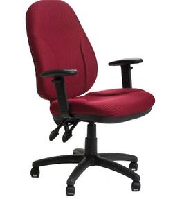כיסא משרדי | תלמיד דגם מירון שחור עם ידיות מתכווננות