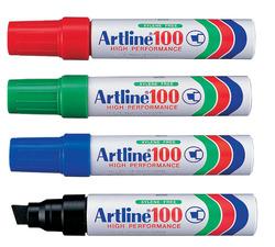 טוש פרמננט  (אינו מחיק) - טוש ארטליין 100 - במגוון צבעים לבחירה
