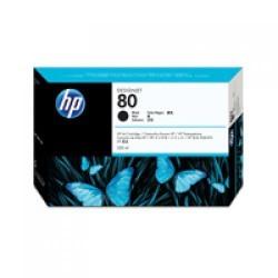 דיו למדפסת HP - מילוי 80 שחור C4871A 1050C 350ml