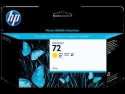 דיו למדפסת HP - מילוי 72 צהוב 130ml מס' C9373A