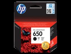 דיו למדפסת HP שחור 650 CZ101AE 2515