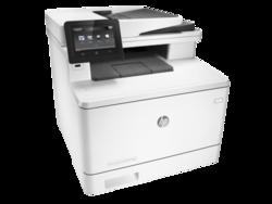 מדפסת לייזר משולבת HP Color LaserJet Pro M477fdn