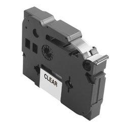 סרט פיטאצ' למכשיר Ptouch ברדר - 12mm הדפסה בשחור על רקע לבן TZe-231 Brother