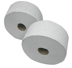 נייר טואלט ג'מבו טישו דו שכבתי 140 מ' 12 יח