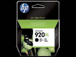 דיו למדפסת - 920XL HP מקורי - שחור CD975AE J6500