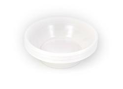 כלים חד פעמיים - מרקיה לבנה, 25 יח'