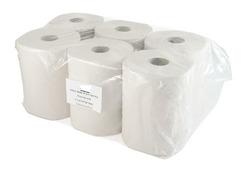 נייר מגבת דו שכבתי 150 מטר בגליל 6 יח'