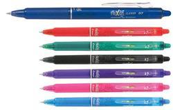 עט פיילוט ג'ל מחיק לחצן Frixion clicker  0.7