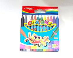 צבעי פסטל - 12 יחידות