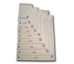 קרטון מעטפות לבנות מרופדות - במגוון גדלים לבחירה