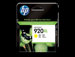 דיו למדפסת - HP- 920XL צהוב CD974AE J6500