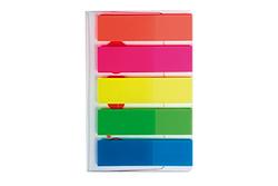 פתקיות - דגלוני סימון 12*45 - 5 צבעים KORES