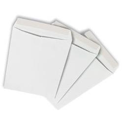 מעטפות לבנות עם סגירת סיליקון