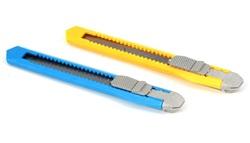 סכין יפני קטן- גוף פלסטיק לאחיזה נוחה