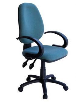 כיסא משרד | מזכירה דגם ליאור, ידיות קשת