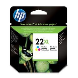 דיו למדפסת -HP 22-XL צבעוני C9352-CE