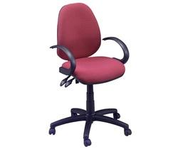 כיסא משרדי | תלמיד - דגם דין שחור כולל ידיות