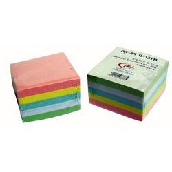 מזכרית 5 צבעים 76/76 500 דף