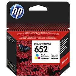 דיו למדפסת -HP652  - צבעוני F6V24AE DJ–3835