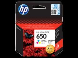 דיו למדפסת - HP - מקורי| צבעוני CZ102AE 2515 HP 650