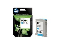 דיו למדפסת - 940XL HP מקורי -ציאן (כחול) C4907AE 8500