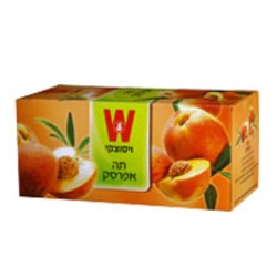 תה ויסוצקי - אפרסק 25 יח